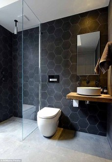 Inspiring Small Bathroom Design Ideas With Wood Decor To Inspire 10