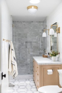 Inspiring Small Bathroom Design Ideas With Wood Decor To Inspire 20