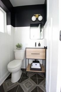 Inspiring Small Bathroom Design Ideas With Wood Decor To Inspire 22