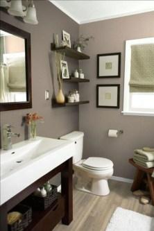 Inspiring Small Bathroom Design Ideas With Wood Decor To Inspire 36