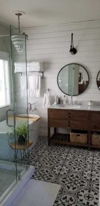 Inspiring Small Bathroom Design Ideas With Wood Decor To Inspire 43