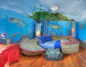 Magnificient Mermaid Themes Ideas For Children Kids Room 11