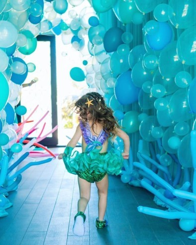 Magnificient Mermaid Themes Ideas For Children Kids Room 39
