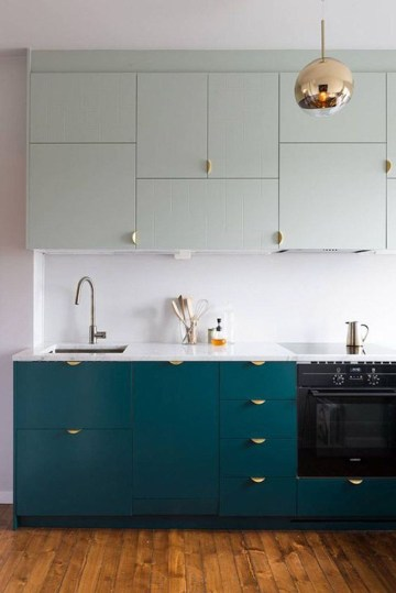 Relaxing Kitchen Cabinet Colour Combinations Ideas To Try 04