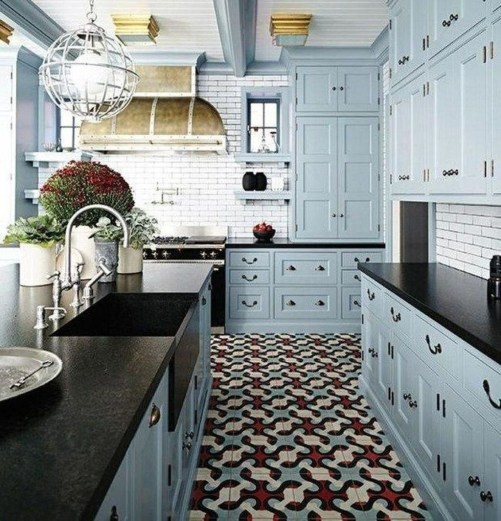 Relaxing Kitchen Cabinet Colour Combinations Ideas To Try 33