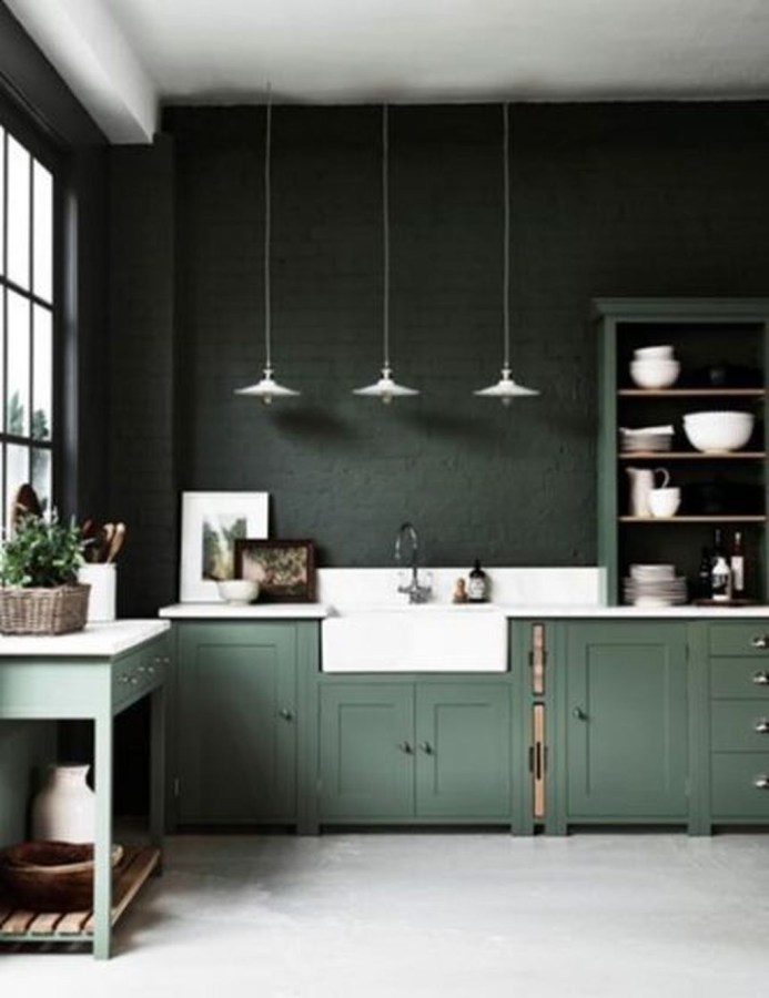 Relaxing Kitchen Cabinet Colour Combinations Ideas To Try 36