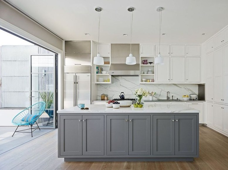 Relaxing Kitchen Cabinet Colour Combinations Ideas To Try 40