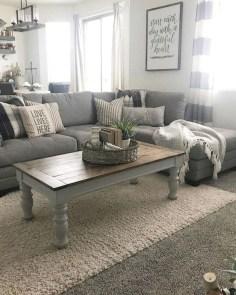 Splendid Farmhouse Living Room Decor Ideas 09