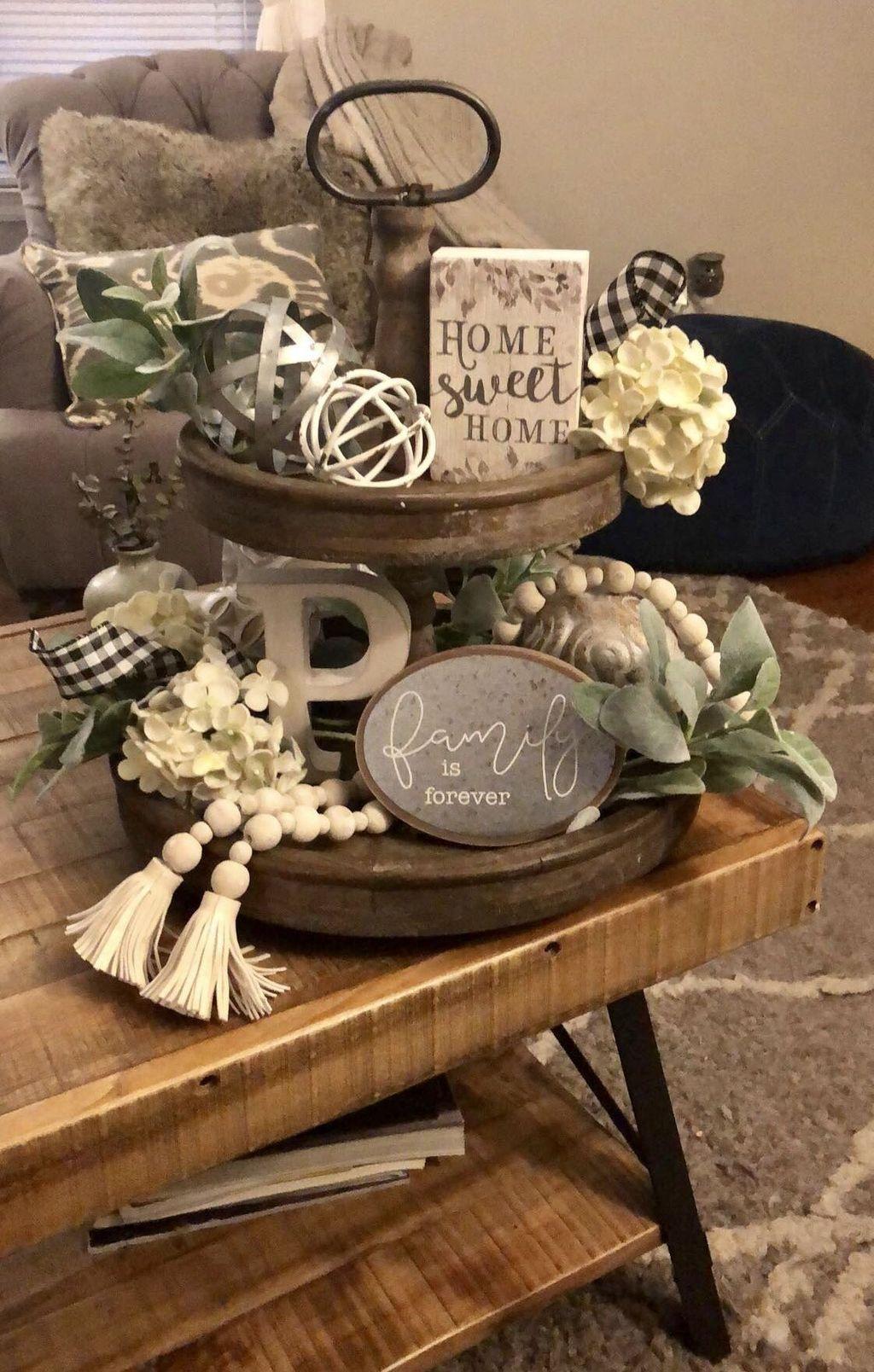 Splendid Farmhouse Living Room Decor Ideas 10