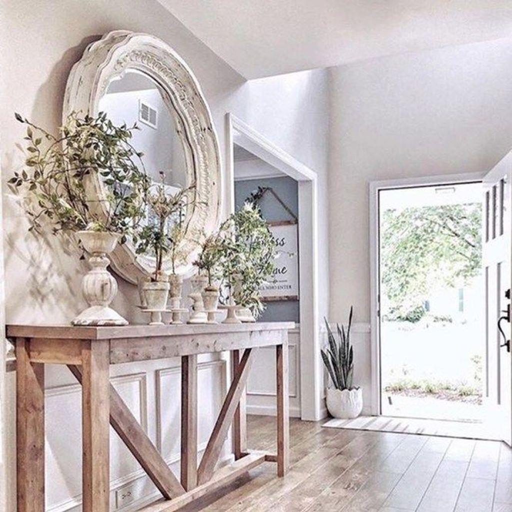 Splendid Farmhouse Living Room Decor Ideas 19