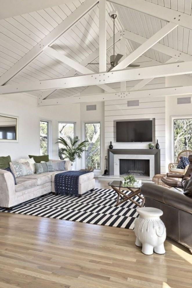 Splendid Farmhouse Living Room Decor Ideas 23