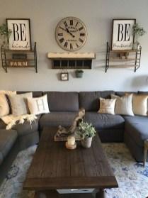 Splendid Farmhouse Living Room Decor Ideas 39