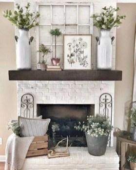 Splendid Farmhouse Living Room Decor Ideas 43