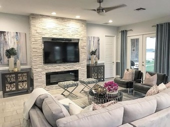 Superb Layout Design Ideas For Family Room 06