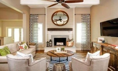 Superb Layout Design Ideas For Family Room 33