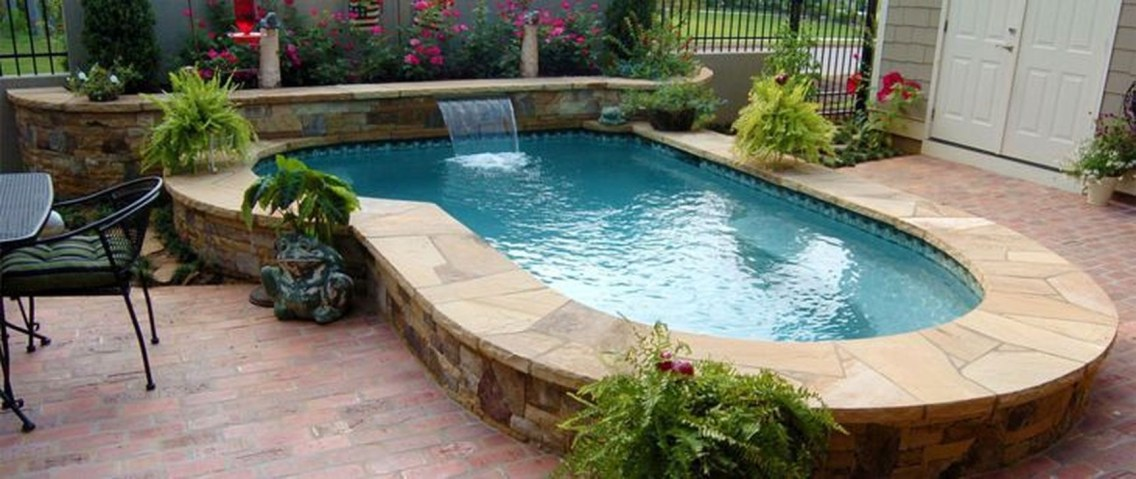 Top Natural Small Pool Design Ideas To Copy Asap 38