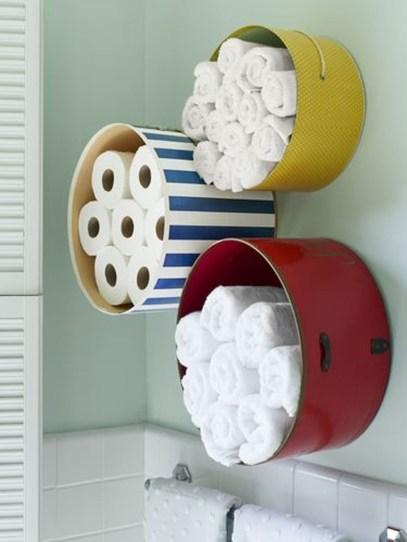Affordable Diy Bathroom Storage Ideas For Small Spaces 17