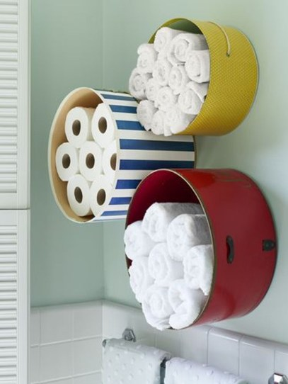 Affordable Diy Bathroom Storage Ideas For Small Spaces 17