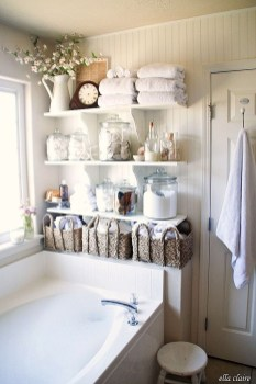 Affordable Diy Bathroom Storage Ideas For Small Spaces 23