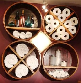 Affordable Diy Bathroom Storage Ideas For Small Spaces 26