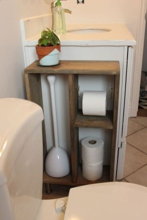 Affordable Diy Bathroom Storage Ideas For Small Spaces 40