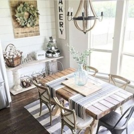 Astonishing Rustic Dining Room Desgin Ideas 03