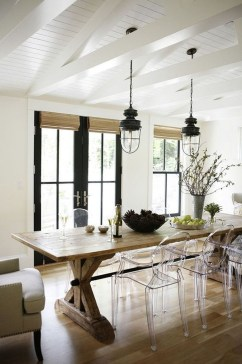 Astonishing Rustic Dining Room Desgin Ideas 11