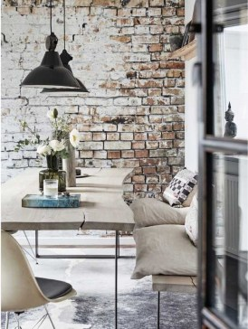 Astonishing Rustic Dining Room Desgin Ideas 12