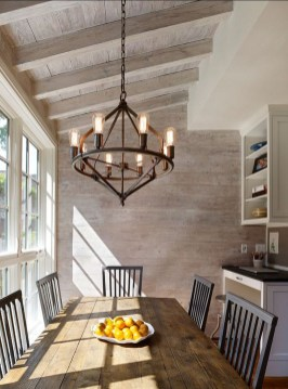 Astonishing Rustic Dining Room Desgin Ideas 28