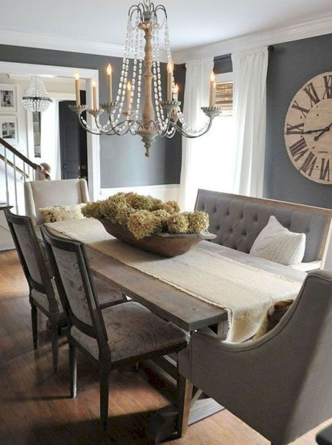 Astonishing Rustic Dining Room Desgin Ideas 32