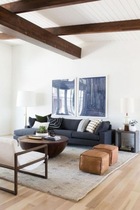 Comfortable And Modern Mid Century Living Room Design Ideas 07