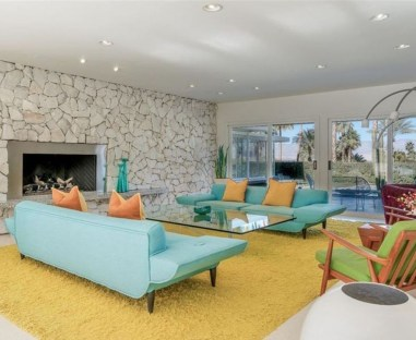 Comfortable And Modern Mid Century Living Room Design Ideas 10