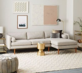 Comfortable And Modern Mid Century Living Room Design Ideas 16