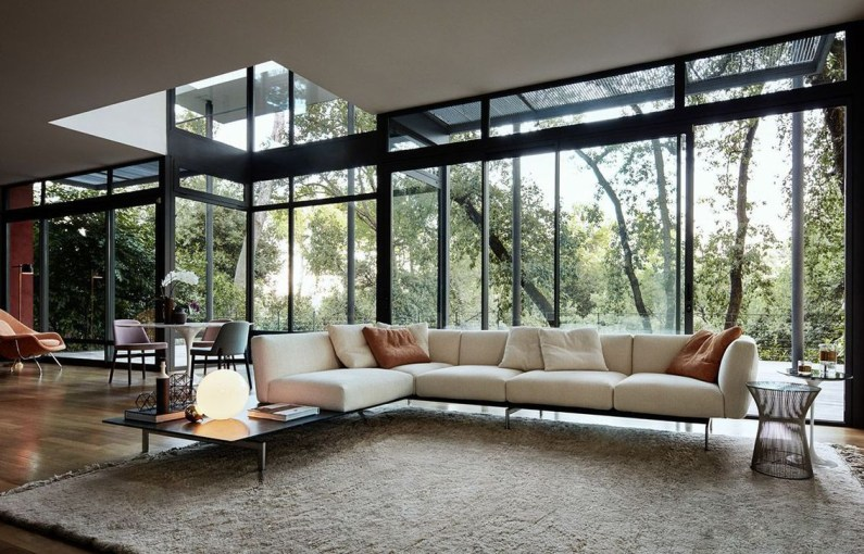Comfortable And Modern Mid Century Living Room Design Ideas 20