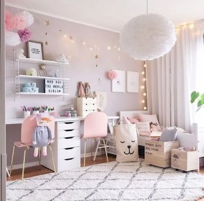 Cute And Girly Pink Bedroom Design For Your Home 30