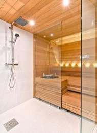 Easy And Cheap Diy Sauna Design You Can Try At Home 36