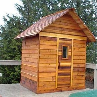 Easy And Cheap Diy Sauna Design You Can Try At Home 37