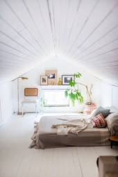 Elegant Small Attic Bedroom For Your Home 25