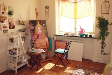 Fantastic Art Studio Apartment Design Ideas 03
