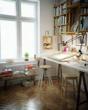 Fantastic Art Studio Apartment Design Ideas 28
