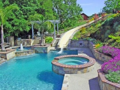 Gorgeous Mediterranean Swimming Pool Designs Out Of Your Dream 06