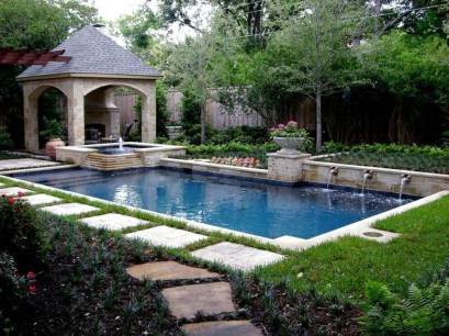 Gorgeous Mediterranean Swimming Pool Designs Out Of Your Dream 36