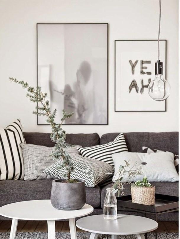 Gorgeous Scandinavian Living Room Design Ideas 05