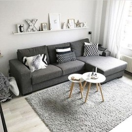 Gorgeous Scandinavian Living Room Design Ideas 10