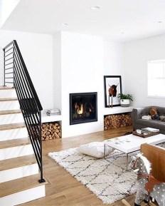 Gorgeous Scandinavian Living Room Design Ideas 24