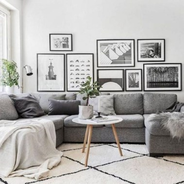 Gorgeous Scandinavian Living Room Design Ideas 28