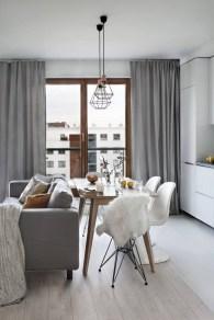 Gorgeous Scandinavian Living Room Design Ideas 34