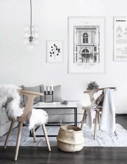 Gorgeous Scandinavian Living Room Design Ideas 38