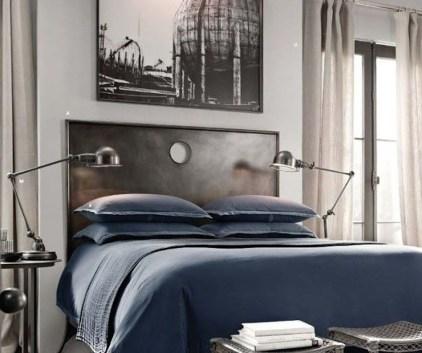 Masculine And Modern Man Bedroom Design Ideas 03