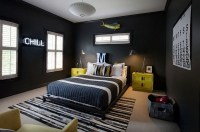 Masculine And Modern Man Bedroom Design Ideas 36
